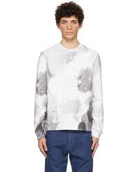Fendi ホワイト フラワー スウェットシャツ