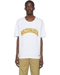 Wacko Maria ホワイト フットボール T シャツ