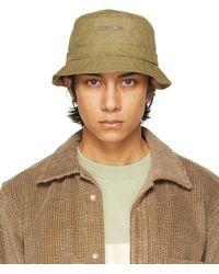 Jacquemus Green 'le Bob Gadjo' Hat