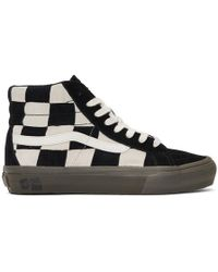 Vans - Off-white And Black Taka Hayashi Edition Sk8-hi Lx Sneakers - Lyst