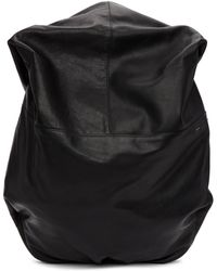 Côte&Ciel - Black Leather Nile Backpack - Lyst