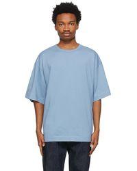 Dries Van Noten ブルー オーバーサイズ T シャツ