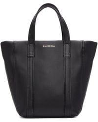 Balenciaga - Black Extra Small Laundry Cabas Tote - Lyst