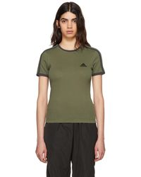 Yeezy Green And Navy Logo Baby T-shirt