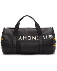 Givenchy - Black And Yellow Mc3 Reverse Duffle Bag - Lyst