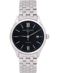 Frederique Constant シルバー & ブラック Classics Index Automatic 腕時計 - メタリック