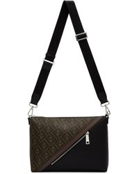 Fendi - Black And Brown Forever By The Way Bag - Lyst