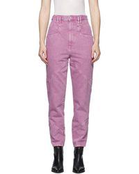 Isabel Marant Pink Eloisa Jeans