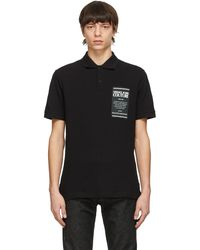 Versace Jeans Couture Warranty ポロシャツ - ブラック