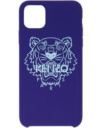 KENZO ブルー Tiger Iphone 11 Pro Max ケース