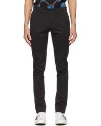 Lacoste Pantalon chinos noir