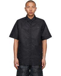 1017 ALYX 9SM Black Short Sleeve Shirt