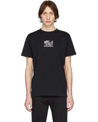 Norse Projects ブラック Topo Niels T シャツ