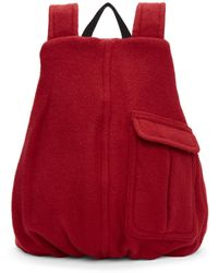 Raf Simons - Red Eastpack Edition Coat Backpack - Lyst