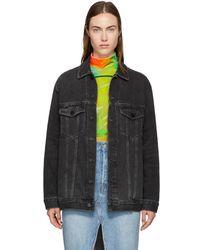 Alexander Wang - Grey Oversize Daze Jacket - Lyst
