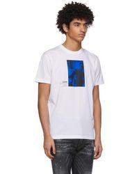 DSquared² Ibrahimovic エディション ホワイト Punk T シャツ