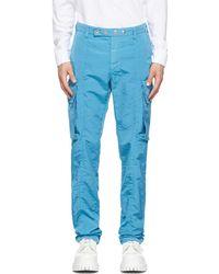 1017 ALYX 9SM ブルー カーゴ パンツ
