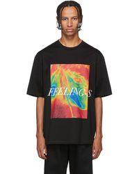 Christian Dada 'feelings' T-shirt - Black