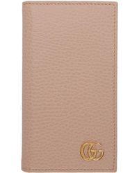 Gucci ピンク GG マーモント Iphone 8 ケース