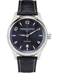 Frederique Constant Riva Historical Society エディション シルバー & ネイビー Runabout 腕時計 - メタリック