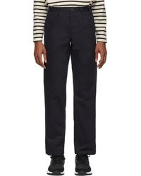 Norse Projects - Navy Aros Heavy Trousers - Lyst