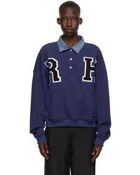 Rhude - ブルー Collegiate スウェットシャツ - Lyst