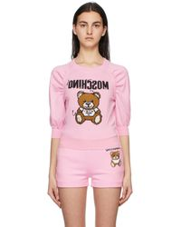 Moschino - ピンク Inside Out Teddy Bear セーター - Lyst