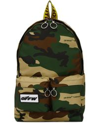 Off-White c/o Virgil Abloh - Multicolor Camouflage Backpack - Lyst