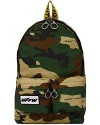 Off-White c/o Virgil Abloh - Multicolour Camouflage Backpack - Lyst