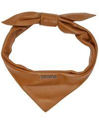 Jacquemus ブラウン Le Bandana スカーフ