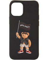 Palm Angels ブラック Pirate Bear Iphone 12 ミニ ケース