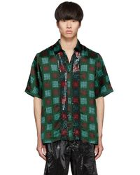 Dries Van Noten - Multicolor Sequin Clasen Shirt - Lyst