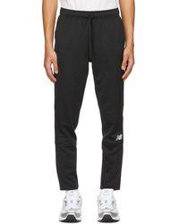 New Balance ブラック Knit Tenacity ラウンジ パンツ