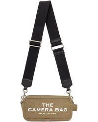 Marc Jacobs カーキ The Camera ショルダー バッグ - ブラック