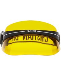 389ee5bc8eb Dior Homme - Black And Yellow Diorclub1 Visor - Lyst