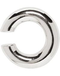 Saskia Diez - Silver Bold Open Ear Cuff - Lyst