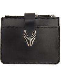 Toga Leather Wallet - Black