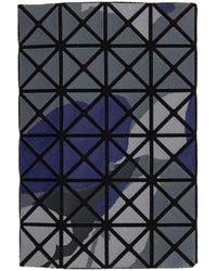 Bao Bao Issey Miyake ブルー And グレー Kuro Oyster カード ケース - マルチカラー