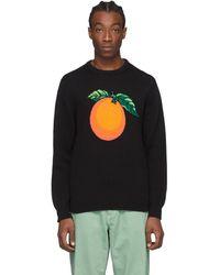 CASABLANCA ブラック Orange セーター