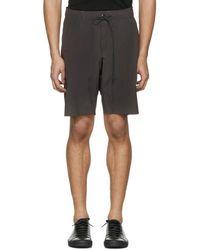 Attachment - Grey Slim Shorts - Lyst
