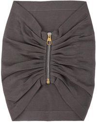 Dunhill グレー ジッパー スカーフ