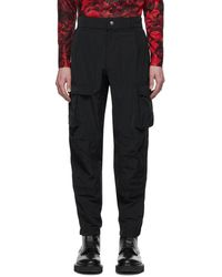 Givenchy - ブラック タフタ カーゴ パンツ - Lyst