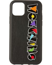 Moschino - ブラック ジオメトリック ロゴ Iphone 11 Pro ケース - Lyst