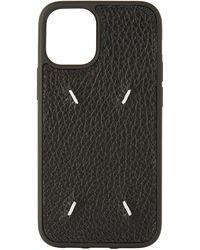 Maison Margiela ブラック Iphone 12 Mini ケース