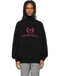 Balenciaga イエロー And ブラック ハウンズトゥース アワーグラス コート
