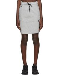 Nike グレー Nsw テック フリース スカート