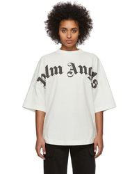 Palm Angels Off-white Logo T-shirt