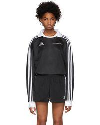 Gosha Rubchinskiy - Black Adidas Originals Edition Football Jersey Polo - Lyst