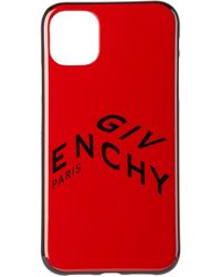 Givenchy レッド ロゴ Iphone 11 ケース