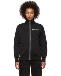 Palm Angels Black Classic Track Jacket